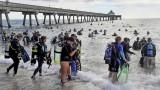 633 души поставиха нов рекорд за почистване на океана