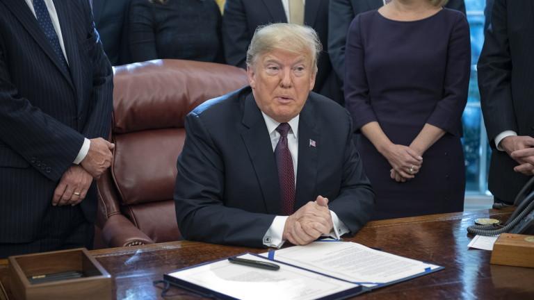 Президентът на САЩ Доналд Тръмп заяви, че писмено е отговорил