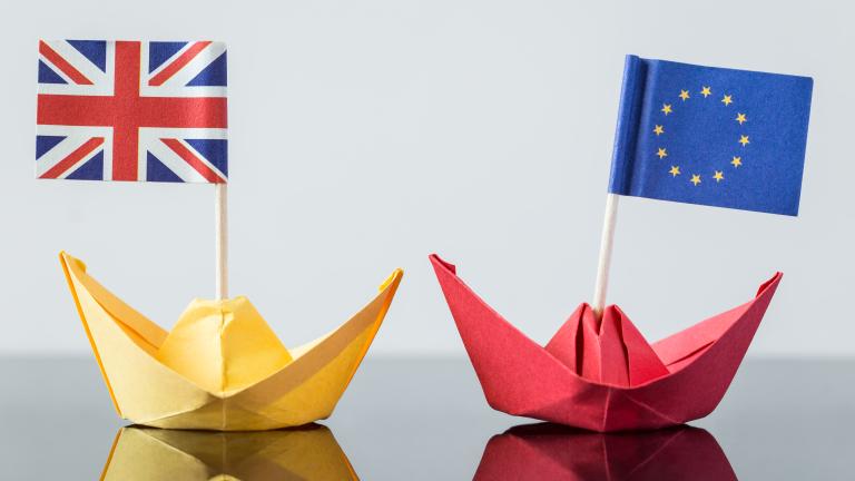 Преговорите между Европейския съюз и Великобритания за границата между Ирландия