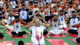 Йога свързва света, убеден индийският премиер
