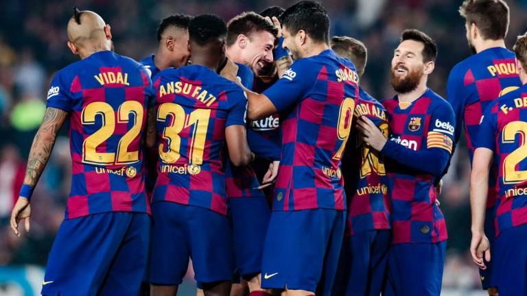 Барселона отнесе Валядолид и си върна лидерската позиция в Ла Лига