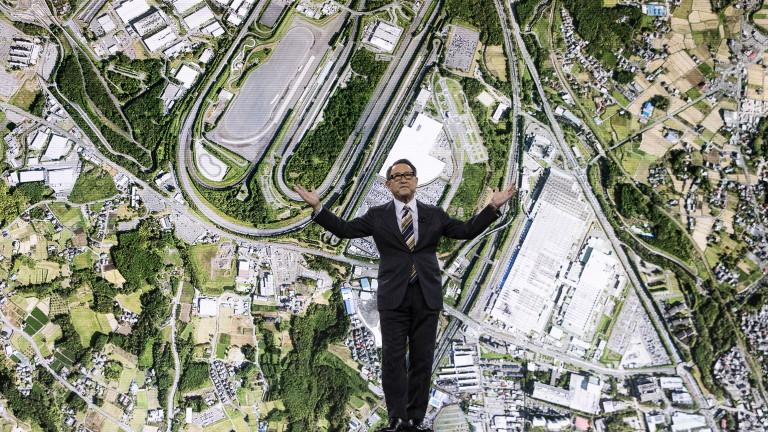 """Toyota строи """"град на бъдещето"""" на мястото на стара автомобилна фабрика"""