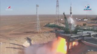 Двама руснаци и американец полетяха към Международната космическа станция