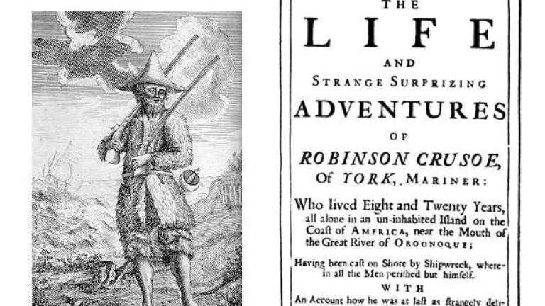 Преди 300 години в Лондон на бял свят излиза романът