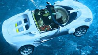 Швейцарска компания създаде автомобил, който се движи под вода