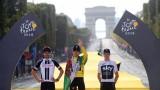 """Гераинт Томас спечели """"Тур дьо Франс 2018"""""""