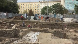 """Археолози търсят двореца на Констанстин Велики под площада """"Св. Неделя"""""""