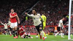 """Шокиращо! Ливърпул размаза Манчестър Юнайтед на """"Олд Трафорд"""" с 5:0"""