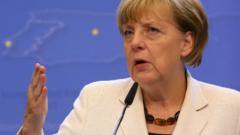 Доверието към Меркел спада