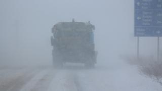 Движението в Североизточна България остава ограничено, отвориха Дюлинския проход