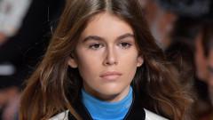 Кая Гербер дебютира на модния подиум