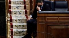Премиерът на Испания Педро Санчес изправен пред вот на недоверие