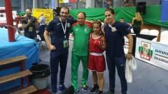 Две българки си осигуриха медали от Европейското по бокс