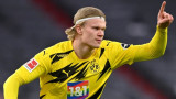 Ерлинг Халанд на разположение на Борусия (Дортмунд) за мача със Севиля