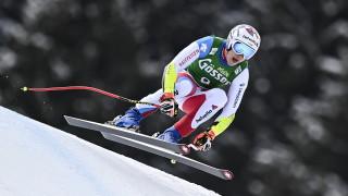 Швейцарец спечели супергигантския слалом в Заалбах-Хинтерглем