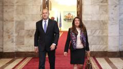 Румен Радев и новият посланик на САЩ у нас обсъдиха върховенството на закона