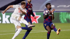 Барселона - Байерн (Мюнхен) 2:8 (Развой на срещата по минути)