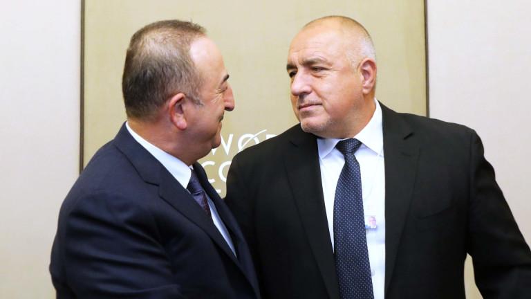 Премиерът Бойко Борисов разговаря с министъра на външните работи на