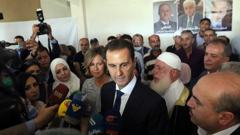 Башар Асад спечели президентските избори в Сирия