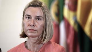 ЕС подкрепя сделката с Иран, може да разговаряме с Помпео, обяви Могерини