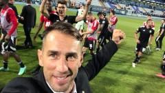 ЦСКА отпразнува подобаващо отстраняването на Осиек
