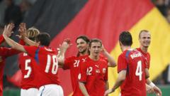 Чехия срази Германия с 3:0 като гост