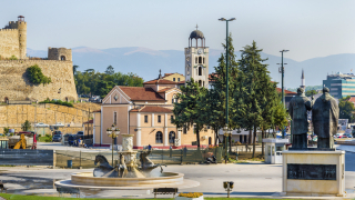 """Най-богатият албанец прави """"чисто нов"""" град в Скопие за €300 милиона"""