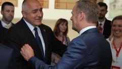 Туск и Борисов обсъждат срещата за Западните Балкани