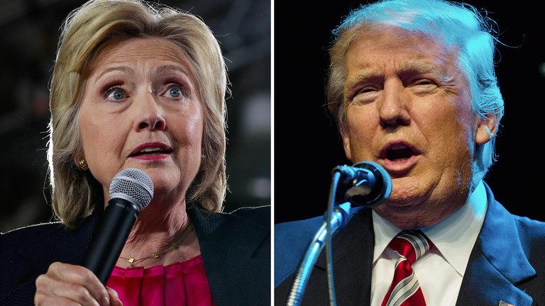 Изключително завързана битка между Тръмп и Клинтън