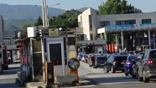 Опашки на границата с Гърция