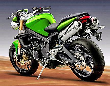 344d5e0d547 Triumph представи нов мотоциклет Triple - News.bg