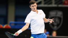 Александър Лазаров стартира с победа участието си на Sofia Open 2019!