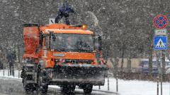 Над 90 снегорина чистят снега в София