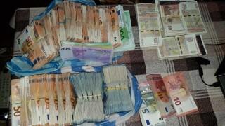 Над 180 хил. евро и близо 57 хил. лв. са иззети при акцията в Сандански