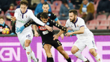 Наполи на полуфинал за Купата след нервна победа над Фиорентина
