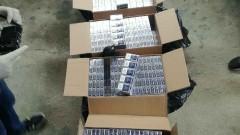 Иззеха близо 200 000 къса контрабандни цигари в три областни града
