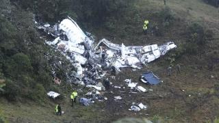 Боливия отне лиценза на компанията собственик на разбилия се самолет в Колумбия