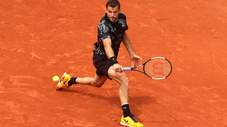 Най-добрият български тенисист Григор Димитров стартира днес участието си на