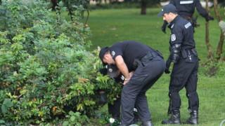 Полицията откри камъни и ножове в храстите около Триъгълника на властта