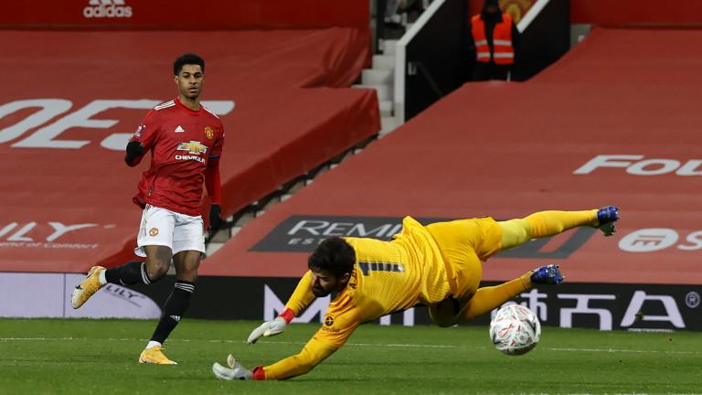 Маркъс Рашфорд направи поредния си силен мач за Манчестър Юнайтед.