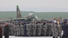 Изпратихме 32-ри контингент от 110 войници в Афганистан
