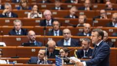 Макрон подкрепи присъствието на Русия в Съвета на Европа