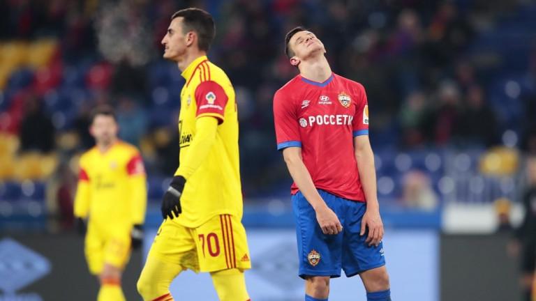 Арсенал (Тула) с Георги Костадинов удари ЦСКА (Москва)