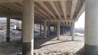 """С месец по-рано завърши ремонтът на повредения от пожар мост на АМ """"Струма"""""""