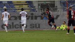 Първа победа за Каляри срещу Торино от 2013 година
