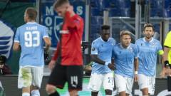 """Звездите на Лацио поведоха """"орлите"""" към обрат срещу Рен"""