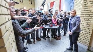 Правосъдният министър на Норвегия подаде оставка и предотврати падане на кабинета