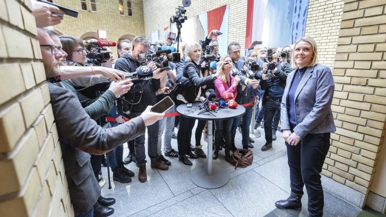 Правосъдният министър на Норвегия Силви Листхауг обяви, че ще подаде