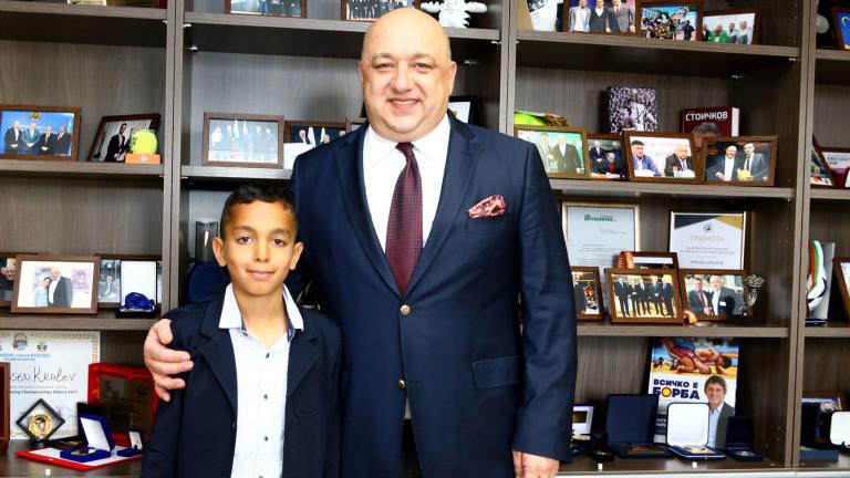 Министърът на младежта и спорта Красен Кралев подкрепи инициативата