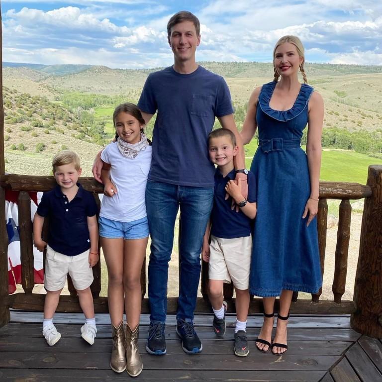 Иванка и Джаред с децата си